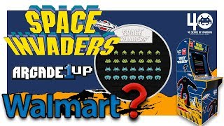 Arcade1Up - Space Invaders might be coming to Walmart very soon!