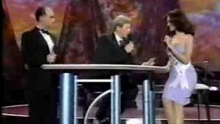 Miss Universe 1999 Interview Part 1