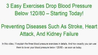 High Blood Pressure Exercise Program Blue Heron Health News