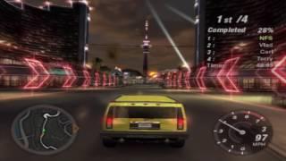 Need for Speed: Underground 2 Gameplay Walkthrough - Hummer H2 Sprint Test Drive