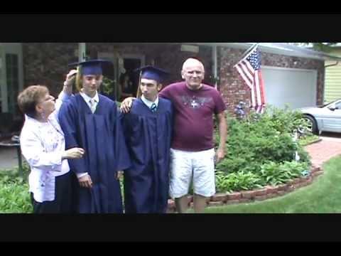 Robby and Josh - Class of 2011 - Riley High School Graduation Ceremony