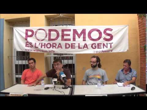 La Calamanda Juan Carlos Monedero PODEMOS visita Benicarlo
