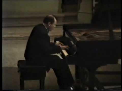 Paganini - Liszt. Etude g-moll. S 141/1. Boris Bloch