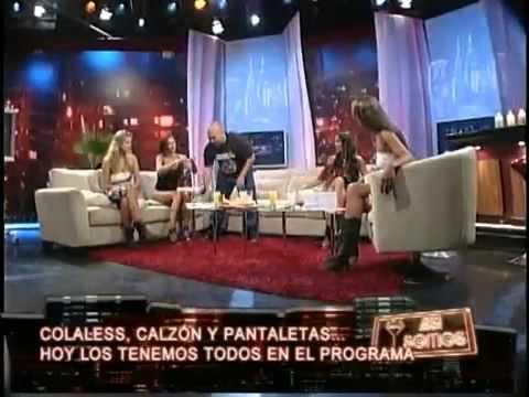 Así Somos: Salfate saca los calzones de Andrea Dellacasa