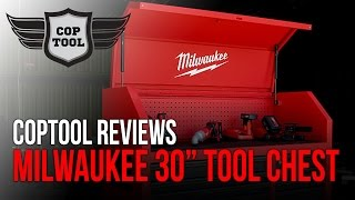 "Milwaukee 30"" Tool Chest Roller with Power Outlets 48-22-8530"