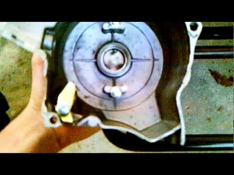 How to get to a Chinese 110cc ATV Stator/Magneto
