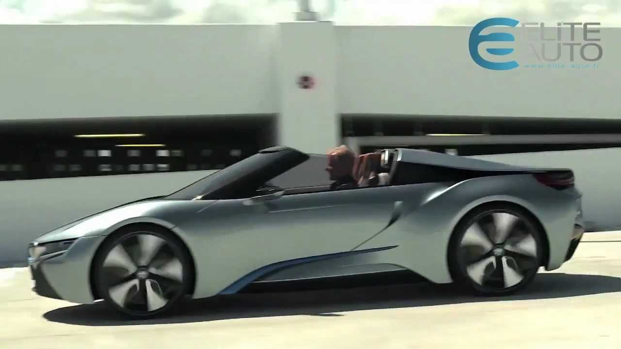 bmw i8 concept spyder 2012 youtube. Black Bedroom Furniture Sets. Home Design Ideas