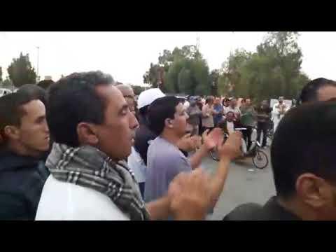 فيديو من كلميم.. وقفة احتجاجية لتنسيقية الصحة أمام المستشفى الجهوي 09 نونبر 2017