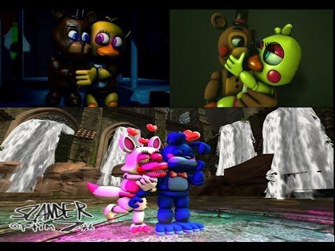 Freddy x Chica Toy Freddy x Toy Chica & Bonnie x Mangle Special Lyric Video