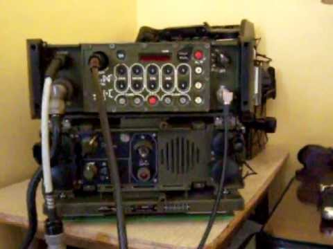 Military Radio Philips - MBLE GRC-600 / PRC-600 / RT-601