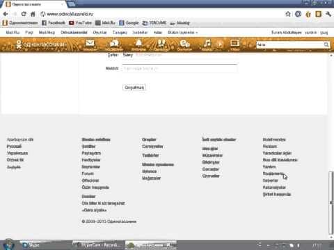 Odnoklassniki.ru-da profil silmek qaydasi - Как удалить себя из одноклассников