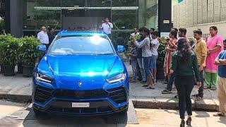 Blu Eleos Lamborghini URUS Delivery - Best Color on Urus?