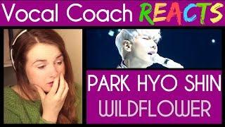 Vocal Coach reacts to Park Hyo Shin (박효신 ) singing 야생화 (Wild Flower) (스페셜영상)