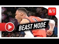 Russell Westbrook Full Highlights Vs Trail Blazers 2017 02 05 42 Pts 8 Ast UNSTOPPABLE mp3