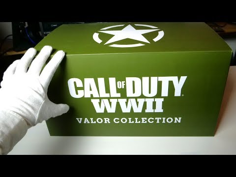 "CALL OF DUTY WWII ""COLLECTOR'S EDITION"" & JACKET UNBOXING! WW2 Limited Edition"