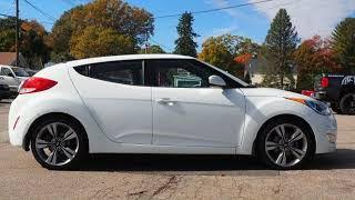 2013 Hyundai Veloster w/Gray Int Used Cars - Whitman,Massachusetts - 2018-11-03