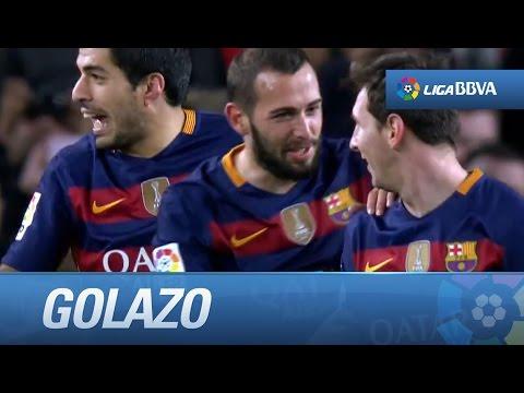 Golazo de Luis Suárez (4-1) FC Barcelona - Celta de Vigo