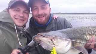 рыбалка на паралонку видео