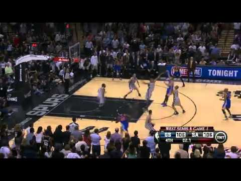 NBA Playoffs Conference 2013: Golden State Warrior Vs San Antonio Spurs Highlights May 6, 2013 Game
