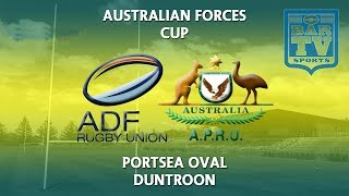2018 General Ronald Grey Cup - Australian Defense Force Rugby Union v Australian Police Rugby Union