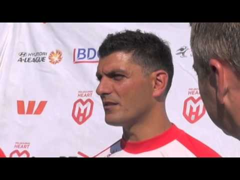 Head Coach John Aloisi confident ahead of Sydney clash