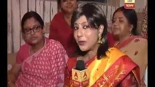 Laksmi Puja celebration in actress Srilekha Mitra's home