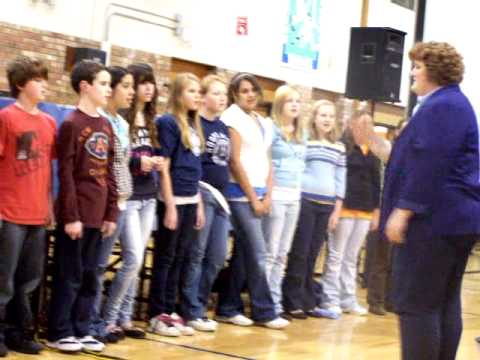WEST BEND SCHOOL DISTRICT TAX LEVY MEETING - SILVERBROOK MIDDLE SCHOOL CHOIR