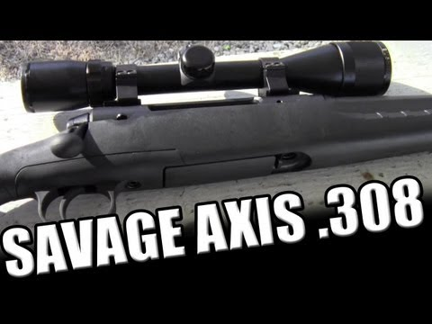 Savage Axis (Edge) .308: Inexpensive Bolt Action