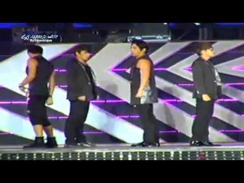 Smtown Concert In Jakarta - Super Junior - Sexy free And Single video