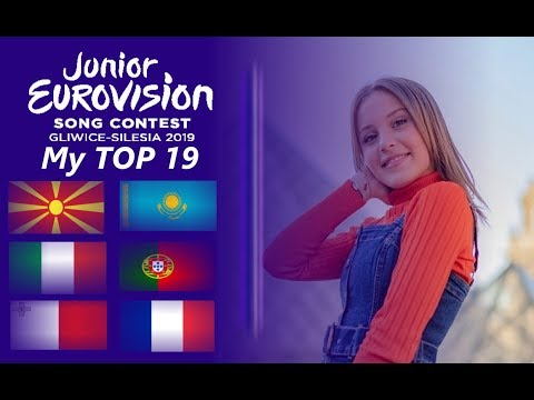 Junior Eurovision 2019 : My TOP 19 Song (04.11.2019)