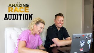Reacting to our Amazing Race Audition Video!