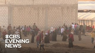Civilians frantically flee Turkish bombings in Syria