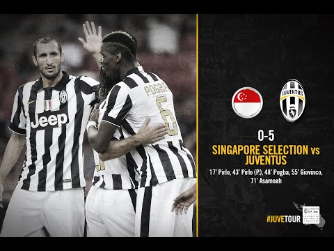 HIGHLIGHTS - Singapore Selection vs Juventus FC 0-5