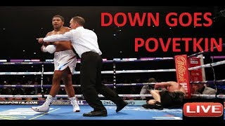 Joshua vs Povetkin LIVE commentary and Post fight reaction. (NO FOOTAGE)