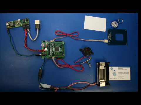 Internet Enabled RFID Door Lock