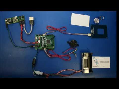 Internet Enabled RFID Door Lock
