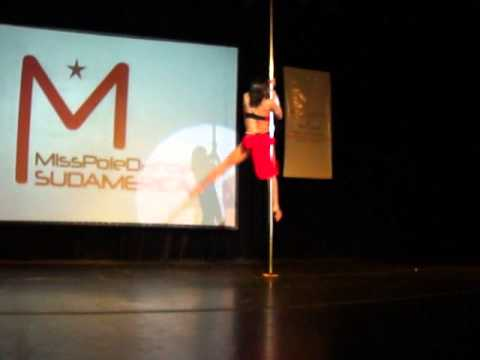 Miss Pole dance Sudamerica 2012 - Ximena Riveros.MP4