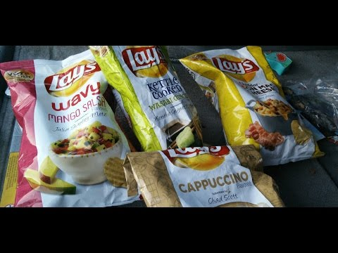♦ Lay's Flavor Contest Chips Reviewed ♦ The Fast Food Review