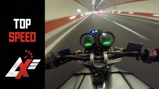 2004 Ducati Monster 620 TOP SPEED RUN (RAW SOUND)