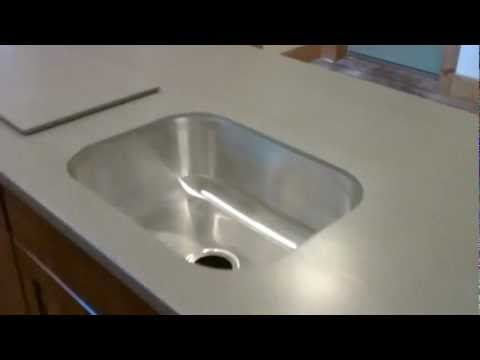 Livingstone Solid Surface Countertop Installed With A