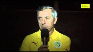 Eliminatoires CAN 2015 | Interview Alain Giresse après Sénégal - Botswana