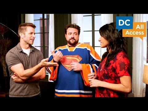 DC All Access - Ep 5 - Zack Snyder And Kevin Smith Talk Man Of Steel And DC Moves To California