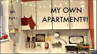 I Moved Out Before Graduating Unfinished Apartment Tour Hanginwithhan