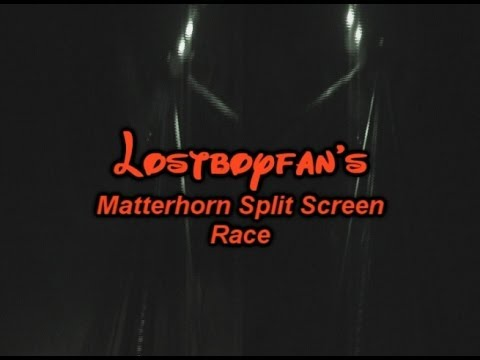 Lostboyfan's Matterhorn Split Screen Race (POV)