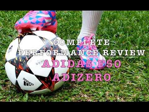 2014 Messi and Bale Boots: Adidas F50 Adizero Review and Play Test