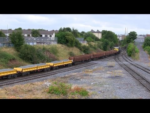 Passenger, freight, LE, wagon/stock transfers & PW workings @ Glasnevin Jctn., Dublin (29-7-2014)