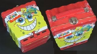 Kinder Surprise - SpongeBob (Metal Lunchbox)