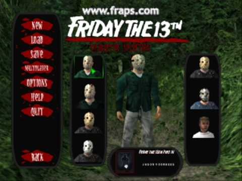 how to change characheters friday the 13th game pc