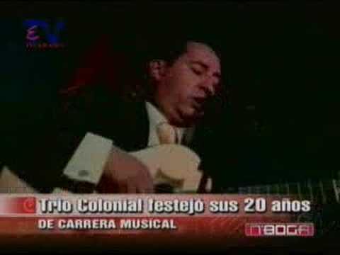 Trío Colonial festejó sus 20 años de carrera musical
