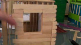 [3/6] How To Build a Popsicle Stick House - Siding